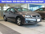 2014 Honda Civic Hybrid Hybrid Green Bay WI