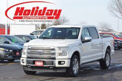 2017 Ford F-150 4x4 SuperCrew Platinum Fond du Lac WI