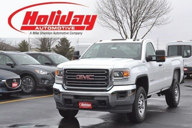 2016 GMC Sierra 2500HD 4x4 Regular Cab Fond du Lac WI