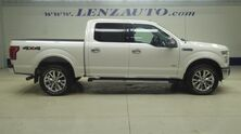 Ford F-150 4x4 SuperCrew Lariat: SHORT-NAV-REVERSE CAMERA-SONY-LEATHER-CD PLAYER-4X4-1 OWNER 2016