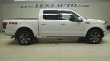 Ford F-150 4x4 SuperCrew Lariat: FX4-SHORT-NAV-MOON-REVERSE CAMERA-SONY-LEATHER-CD PLAYER-4X4-1 OWNER 2015