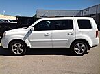 2013 Honda Pilot 4WD EX-L: MOON-TV-DVD-BENCH-THIRD-REVERSE CAMERA-LEATHER-CD PLAYER-4WD-1 OWNER