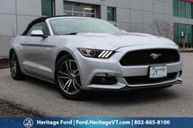 2016 Ford Mustang EcoBoost Premium South Burlington VT
