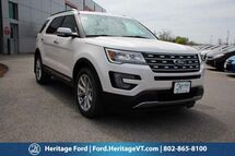 2017 Ford Explorer Limited South Burlington VT