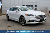 2017 Ford Fusion Titanium South Burlington VT