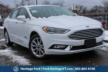 2017 Ford Fusion Energi SE South Burlington VT