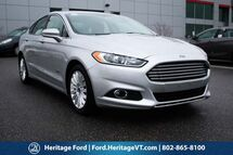 2016 Ford Fusion Energi SE Luxury South Burlington VT