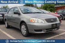 2003 Toyota Corolla CE South Burlington VT