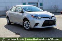 2014 Toyota Corolla L South Burlington VT