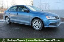 2015 Volkswagen Jetta Sedan SE South Burlington VT