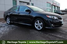 2014 Toyota Camry SE South Burlington VT