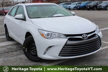 2017 Toyota Camry LE South Burlington VT