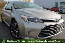 2017 Toyota Avalon XLE Premium South Burlington VT