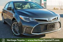 2017 Toyota Avalon Limited South Burlington VT