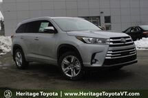 2017 Toyota Highlander Limited South Burlington VT