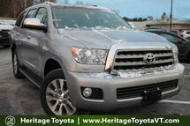 2017 Toyota Sequoia Limited South Burlington VT