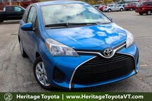 2017 Toyota Yaris LE South Burlington VT