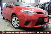 2014 Toyota Corolla LE White River Junction VT