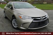 2016 Toyota Camry LE White River Junction VT