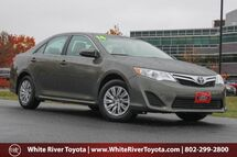 2014 Toyota Camry LE White River Junction VT