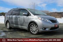2014 Toyota Sienna XLE White River Junction VT