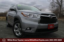 2014 Toyota Highlander Limited White River Junction VT