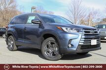 2017 Toyota Highlander Limited Platinum White River Junction VT