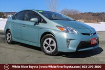 2014 Toyota Prius Two White River Junction VT