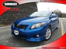 2010 Toyota Corolla S North Kingstown RI