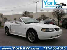 2001 Ford Mustang GT V8 CONVERTIBLE W/WHITE LEATHER-MACH 460 SOUND York PA