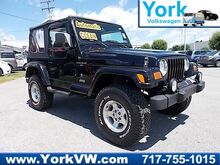 2001 Jeep Wrangler Sport 4.0L 60TH ANNIVERSARY EDITION LIFTED W/SOFT TOP York PA