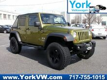 2007 Jeep Wrangler Unlimited X LIFTED 6 SPEED W/WINCH-CUSTOM BUMPER-SOFTTOP York PA