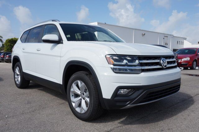 2018 volkswagen atlas 3 6l v6 se w technology pompano beach fl 18610207. Black Bedroom Furniture Sets. Home Design Ideas
