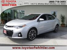 2014 Toyota Corolla S Plus Whittier CA