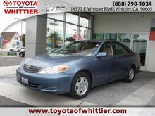 2002 Toyota Camry LE Whittier CA