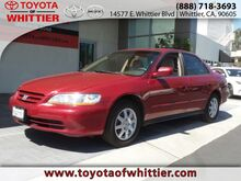 2002 Honda Accord Sdn SE Whittier CA