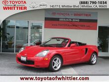 2002 Toyota MR2 Spyder  Whittier CA