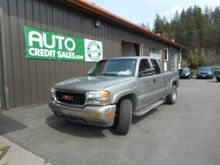 2000 GMC New Sierra 1500 SLE Ext. Cab 3-Door Short Bed 4WD Spokane Valley WA