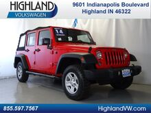 2014 Jeep Wrangler Unlimited Sport Highland IN