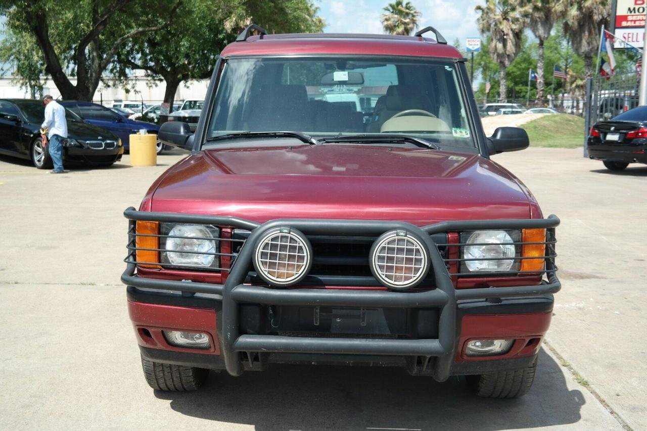 2000 Land Rover Discovery Series Ii W Cloth Houston Tx