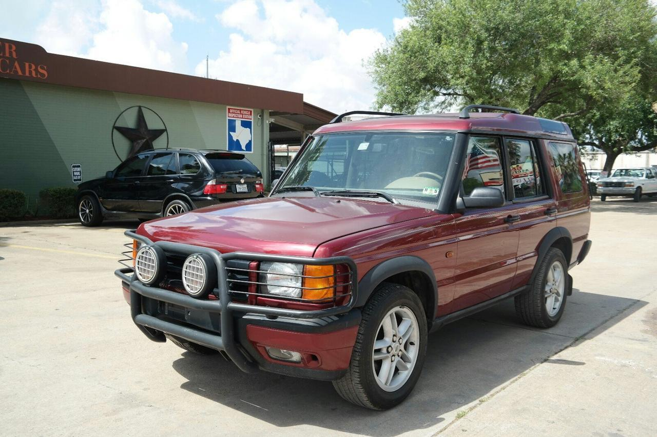 2000 land rover discovery series ii w cloth houston tx. Black Bedroom Furniture Sets. Home Design Ideas
