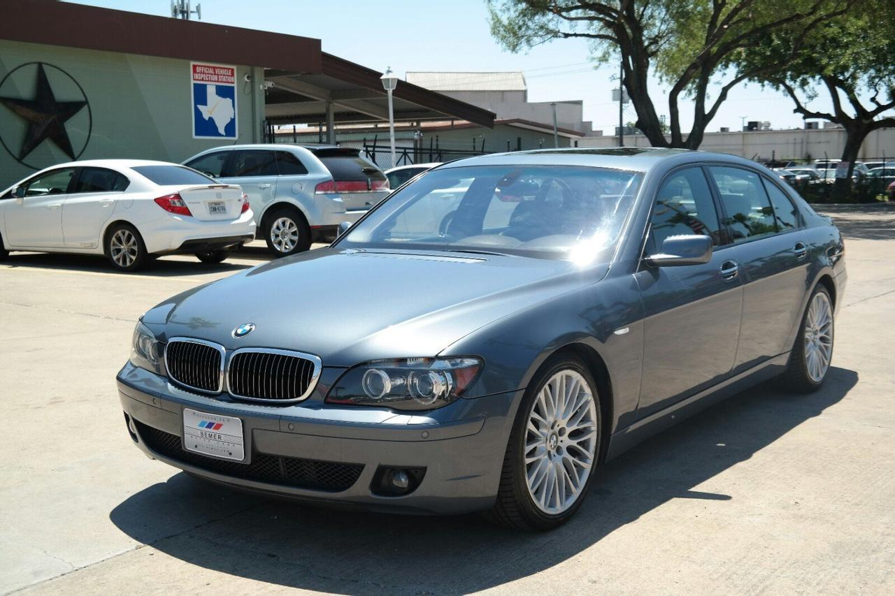 2007 Bmw 7 Series 750li Houston Tx 18413691