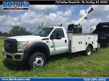 2016 Ford Super Duty F-550 DRW Boom Truck XL Regular Cab Chassis-Cab Mt. Sterling KY