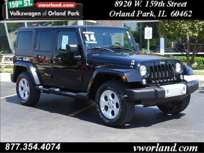 2014 Jeep Wrangler Unlimited Sahara Orland Park IL