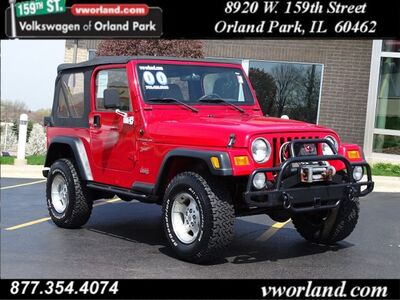 2000 Jeep Wrangler Sport Orland Park IL
