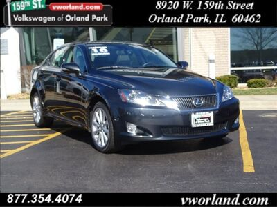 2010 Lexus IS 250 4DR SPT SDN AWD A Orland Park IL