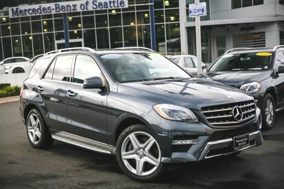 2013 Mercedes-Benz M-Class ML550 Seattle WA