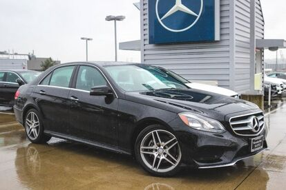 2016 Mercedes-Benz E-Class E 350 Sport Seattle WA