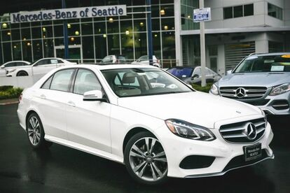 2016 Mercedes-Benz E-Class E350 Sport Seattle WA