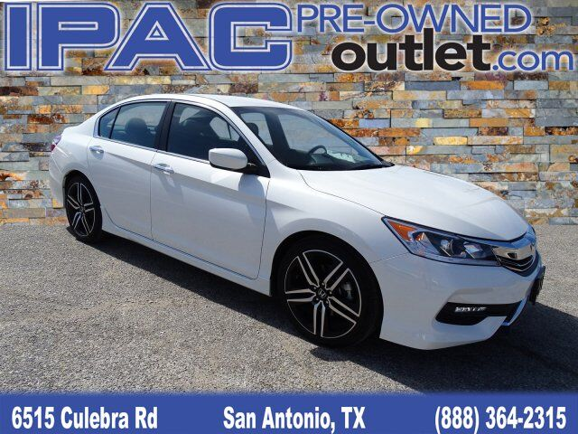 2017 Honda Accord Sedan Sport SE San Antonio TX